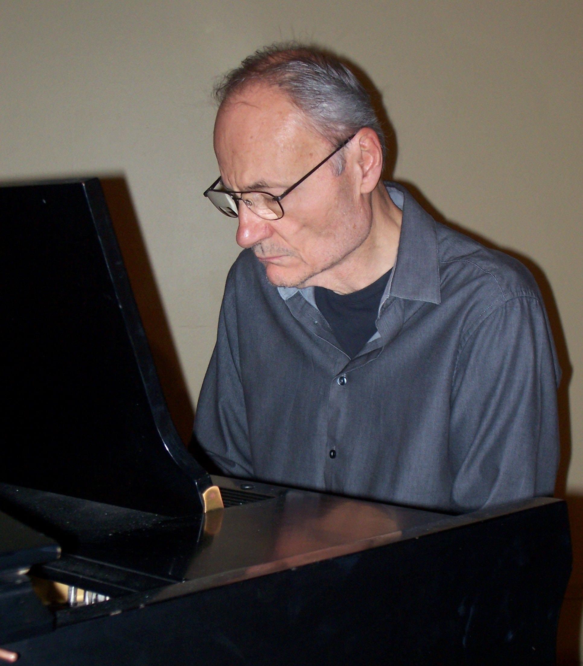 Bill Rossi at piano